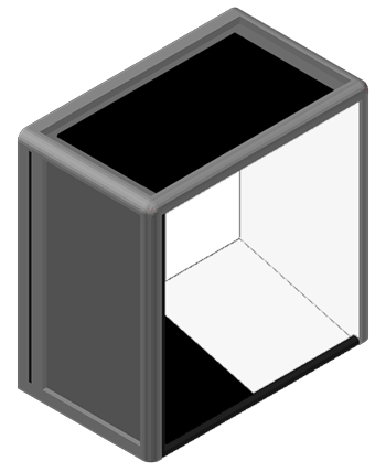 ErgoVu-20 compact manual inspection booth