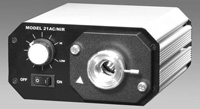 Techniquip Fiber Optic LIGHT SOURCES – IR (Infra-red); Low cost alternative for Near-IR and IR applications. Cover the spectrum 700nm – 5 meter in a compact package.  Made in USA.
