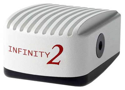 Lumenera CCD INFINITY 2-2 series digital microscope cameras: 2 megapixel color or monochrome.