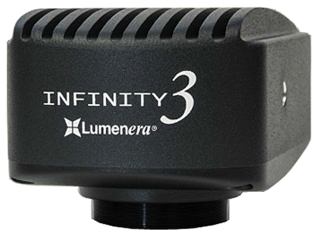 Lumenera 3-3 research grade non-cooled CCD microscope camera models for fluorescence and extremely low light microscope applications