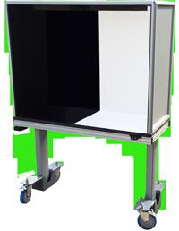 ErgoVu-50C-compact-manual-inspection-booth-motor-lift-USP790