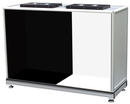 ErgoVu-50-USP790-manual-inspection-booth-table-model